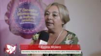 Estela Molero – 2º Encontro Internacional de Mulheres Socialistas – Entrevista