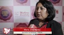Maria José de Abreu – 2º Encontro Internacional de Mulheres Socialistas – Entrevista