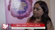 Maria Ysabel – 2º Encontro Internacional de Mulheres Socialistas – Entrevista
