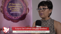 Susana Delgado – 2º Encontro Internacional de Mulheres Socialistas – Entrevista