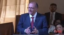Geraldo Alckmin fala em homenagem à família de Eduardo Campos