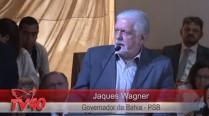 Jaques Wagner discursa em homenagem aos 50 anos de Eduardo Campos