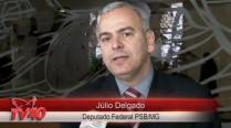 Júlio Delgado fala sobre o exemplo que foi Eduardo Campos na política