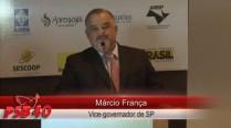 Márcio França faz discurso em homenagem a Eduardo Campos