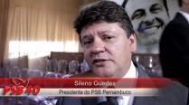 Sileno Guedes fala sobre homenagens a Eduardo Campos