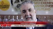 Valdomiro Lopes fala sobre legado de Eduardo Campos