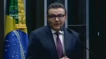 Carlos Siqueira homenageia Eduardo Campos no Senado Federal
