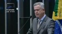 Governador Rodrigo Rollemberg homenageia Eduardo Campos no Senado Federal