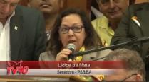 Lídice da Mata fala no Ato de Filiação da Excelentíssima Senhora Senadora Lúcia Vânia ao PSB
