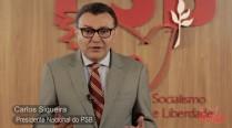 Carlos Siqueira avalia medidas anunciadas pelo Governo Federal