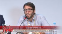 Bruno Brandão palestra sobre Transparência Internacional