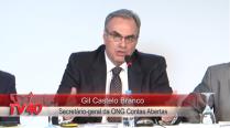 Gil Castelo Branco debate sobre a transparência no Brasil