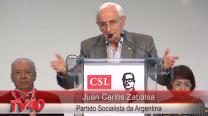 Juan Carlos Zabalsa no Encontro da CSL