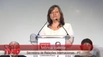 Saudações da Monica Valente no Encontro da CSL