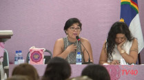 Susana del Carmen Delgado Orellano – 2º Encontro Internacional de Mulheres Socialistas – 1º Dia