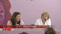 Silvia Cordeiro – 2º Encontro Internacional de Mulheres Socialistas – 2º Dia