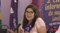 Silvia Salgado  – 2º Encontro Internacional de Mulheres Socialistas – 2º Dia