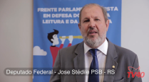 Deputado Stédile fala sobre PL que obriga cada cidade a ter uma biblioteca