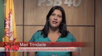 """Mês da Mulher: """"Precisamos avançar na política"""", afirma secretária especial do PSB Mari Trindade"""