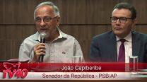 """João Capiberibe – Debate: """"Os desafios da Reforma Previdenciária no Brasil"""""""