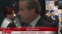 Tadeu Alencar – Lançamento da Frente Suprapartidária Por Eleições Diretas Já