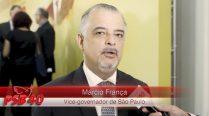 Entrevista Márcio França – Ato de Filiação Aldo Rebelo