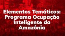Elementos Temáticos: Programa Ocupação Inteligente da Amazônia