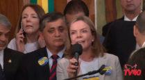 Gleisi Hoffmann – Lançamento da Frente Suprapartidária Por Eleições Diretas Já