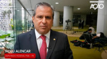 Tadeu Alencar fala sobre o Lançamento da Frente Parlamentar Mista em Defesa do Cinema e Audiovisual Brasileiros