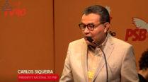 02 – Ao vivo – Carlos Siqueira – Inauguração da Conferência Nacional da Autorreforma do PSB