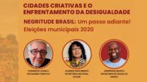 Transmissão ao vivo – Cidades criativas e o enfrentamento da desigualdade