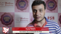 Tony Sechi – 2º Encontro Internacional de Mulheres Socialistas – Entrevista