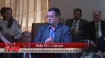 Beto Albuquerque faz homenagem aos 50 anos de Eduardo Campos
