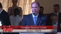 Fernando Bezerra Coelho fala em celebração à vida de Eduardo Campos