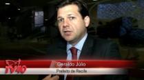 Geraldo Julio fala sobre homenagem a Eduardo Campos