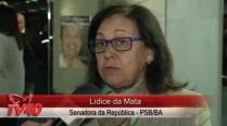 Lídice da Mata fala sobre atuação política de Eduardo Campos e a crise atual