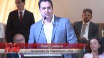 Paulo Câmara fala em homenagem aos 50 anos de Eduardo Campos
