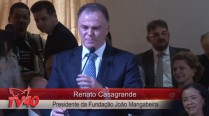 Renato Casagrande faz discurso em homenagem aos 50 anos de Eduardo Campos