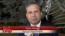 Tadeu Alencar comenta o legado de Eduardo Campos