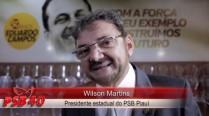 Wilson Martins cita legado político de Eduardo Campos