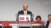 Antônio Carlos Valadares no Encontro da CSL