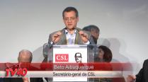 Beto Albuquerque da inicio ao Encontro da CSL