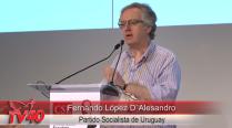 Fernando López D´Alesandro no Encontro da CSL