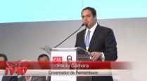 Governado Paulo Câmara na abertura do Encontro da CSL