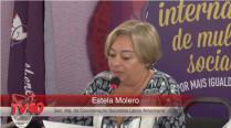 Leitura da Carta do Recife – Estela Molero – 2º Encontro Internacional de Mulheres Socialistas – 2º Dia