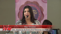 Mari Trindade – 2º Encontro Internacional de Mulheres Socialistas – 1º Dia
