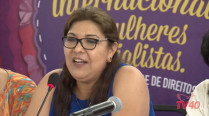 Silvia Salgado Andrade – 2º Encontro Internacional de Mulheres Socialistas – 1º Dia