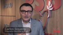 Carlos Siqueira avalia agravamento da crise