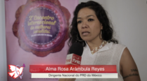 Alma Rosa Arambula – 2º Encontro Internacional de Mulheres Socialistas – Entrevista