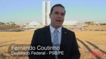 Fernando Coutinho quer acesso de população carente a sistemas de geração de energia solar.